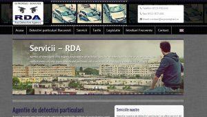 Supravegheri.ro, site al agentiei de investigatii RDA