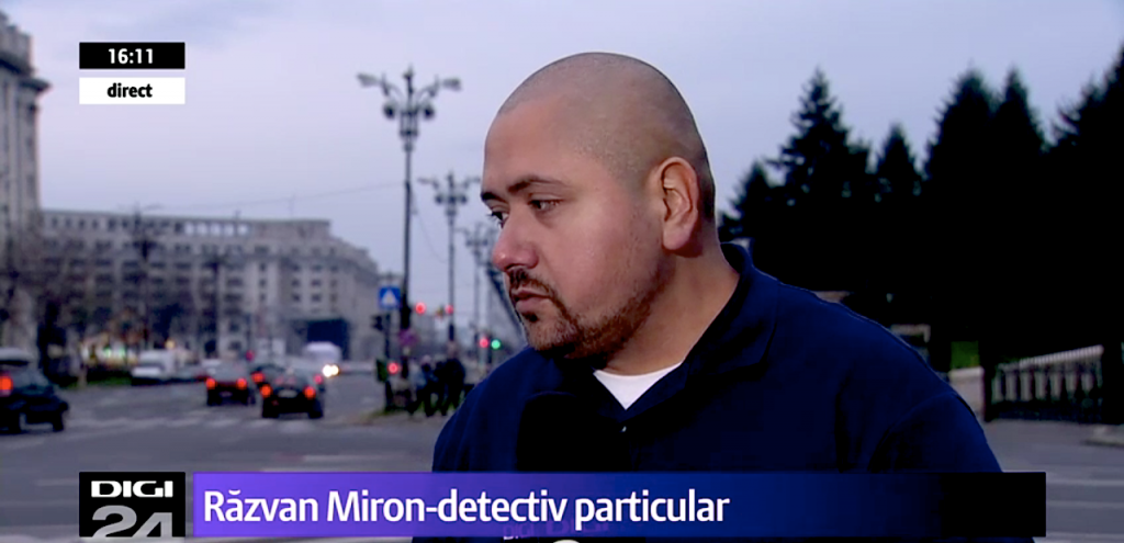Romanian detective agency on national television